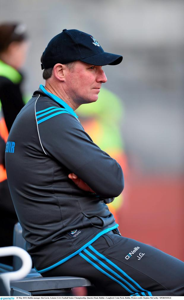 Dubs boss Jim Gavin