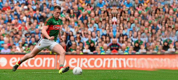 Cillian O'Connor's consistency with the placed ball was key to Mayo's comeback