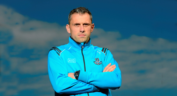 Alan Brogan at a media event before Sunday's final against Kerry