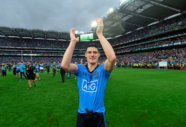 Diarmuid Connolly celebrates after Dublin's All-Ireland final success last Sunday