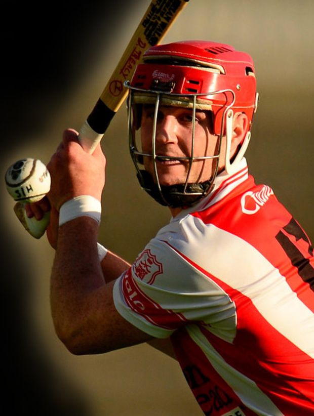David Treacy was in sparkling form for Dublin champions Cuala in the AIB Leinster Senior Club Hurling Championship quarter-final against Coolderry in Tullamore