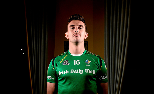 Ireland's Colm Begley during a press conference at Carton House, Maynooth, Kildare