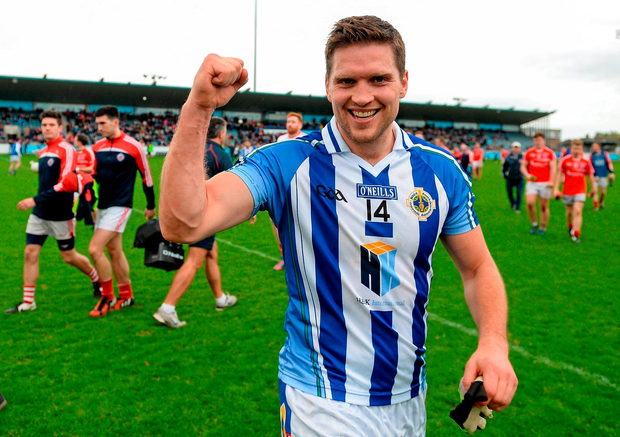 Conal Keaney helps makes up the southsiders' spine