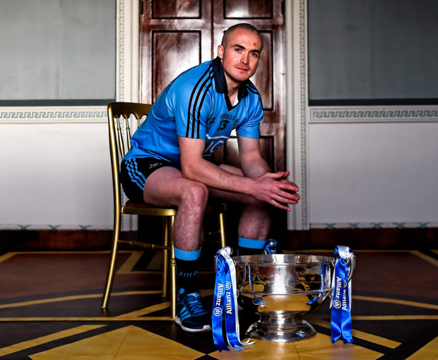 At the launch of the 2016 Allianz Hurling League is Dublin's David O'Callaghan. Tipperary host Dublin under lights in Semple Stadium, Thurles in the Allianz Hurling League opener this Saturday. Photo: Brendan Moran/Sportsfile