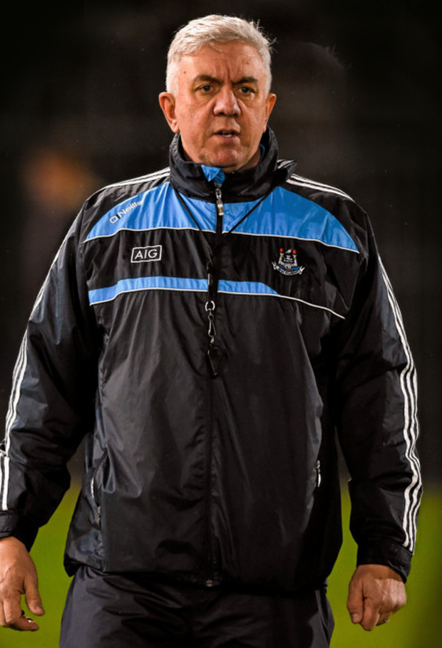 Dublin hurling manager Ger Cunningham. Photo: Sportsfile