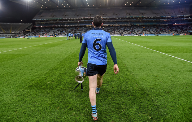 Liam Rushe returns from suspension for Dublin tonight. Photo: Sportsfile