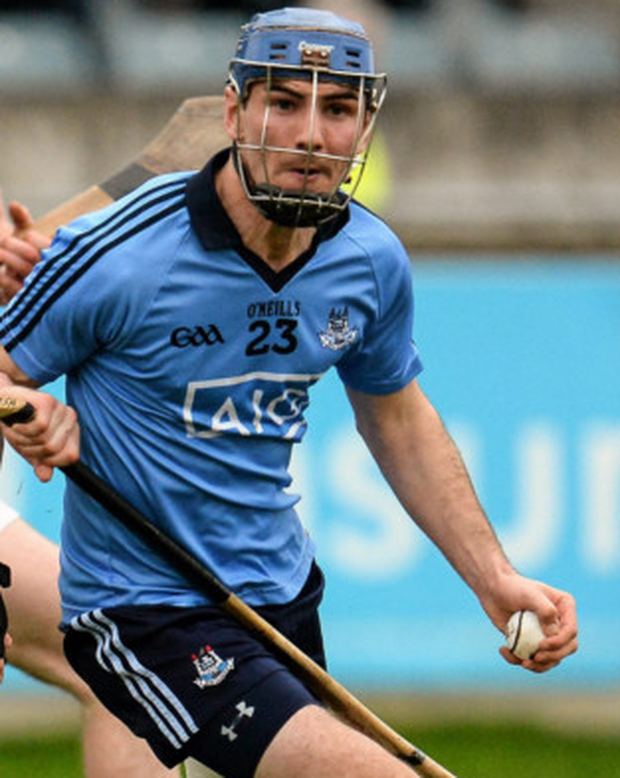 Daire Plunkett in action for Dublin against Galway Photo: Sportsfile