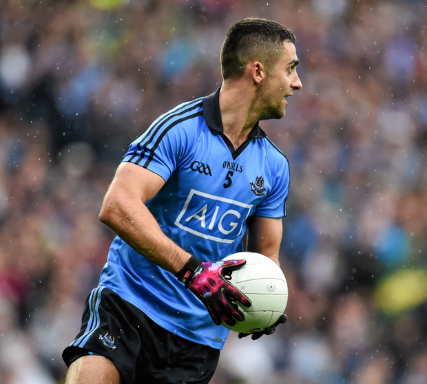 Dublin defender James McCarthy Photo: Sportsfile