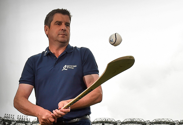 Offaly's All-Ireland winning forward Michael Duignan was at Croke Park to launch this year's Bord Gáis Energy Legends Tour Series Picture: Sportsfile