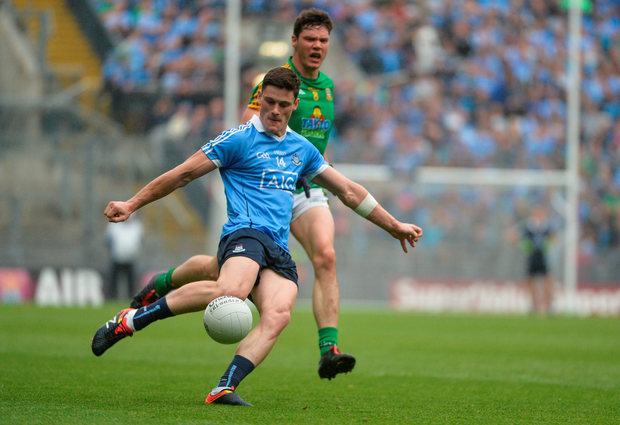 Diarmuid Connolly in action for Dublin during the Leinster SFC semifinal against Meath at Croke Park yesterday. Photo: Piaras Ó Mídheach/Sportsfile