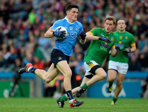 Dublin's Diarmuid Connolly in action against Meath during last Sunday's Leinster SFC semi-final at Croke Park. Pics: Sportsfile