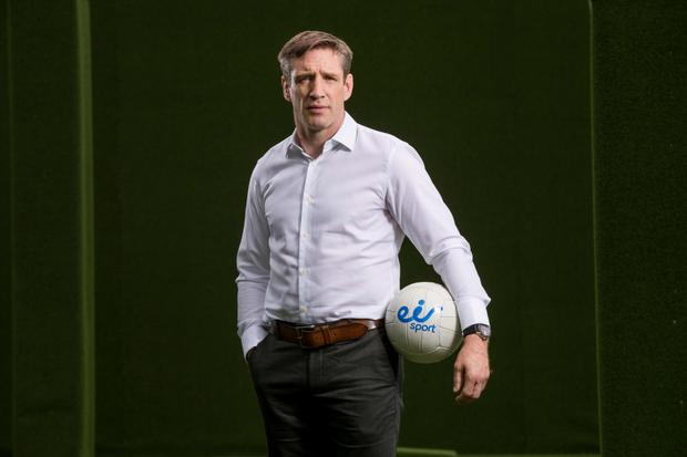 Armagh manager Kieran McGeeney at the launch of eir Sport. Pic: Inpho