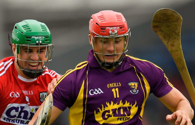 Wexford's Lee Chin Picture: Sportsfile