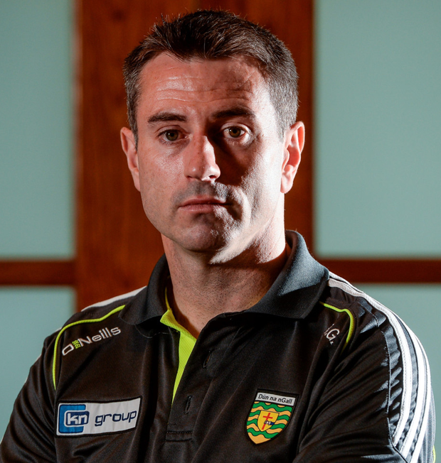 Donegal manager Rory Gallagher. Photo: Sportsfile