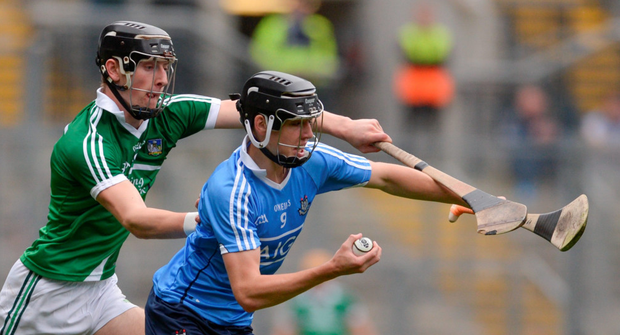 Donal Burke of Dublin in action against Conor Boylan of Limerick Picture: Sportsfile