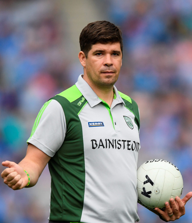 Kerry boss Éamonn Fitzmaurice must decide on his future. Photo: Sportsfile