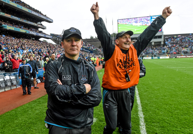 Dublin boss Jim Gavin and selector Mick Deegan