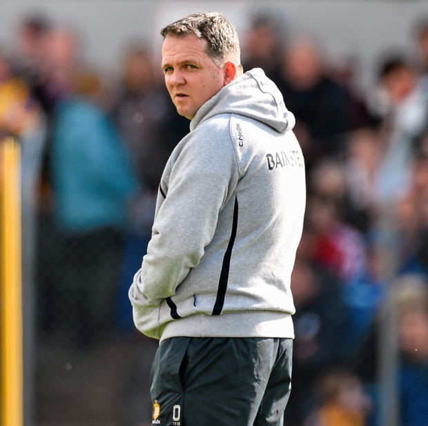 Former Clare hurling coach Davy Fitzgerald
