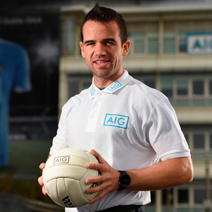 Former Dublin footballer Ger Brennan at AIG Insurance's offices as the company has offered Dublin supporters the chance to take advantage of discounted insurance which could save them up to 15pc on car and home policies. Log on to www.aig.ie/ dubs to get a quote. Photo: Sportsfile