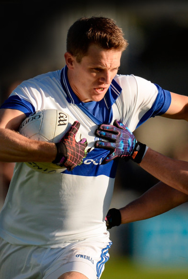 Tomás Quinn in action against Castleknock during the Dublin SFC final at Parnell Park. Pic: Sportsfile