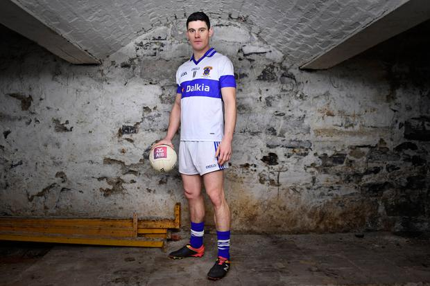 St. Vincent's captain Diarmuid Connolly is pictured ahead of the AIB Leinster Senior Football Club Championship Final on Sunday next. Photo: Sportsfile