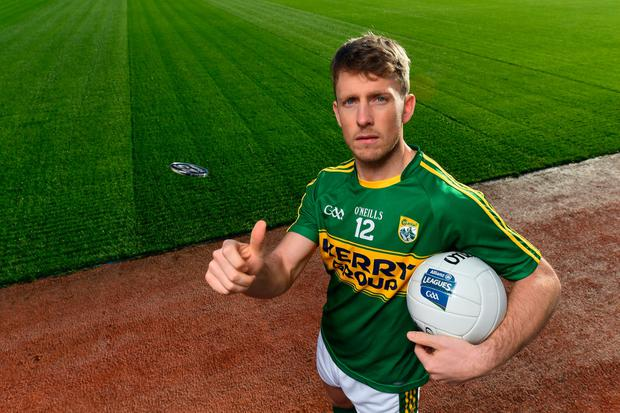 Donnchadh Walsh at the launch of the 2017 Allianz Leagues. Pic: Sportsfile