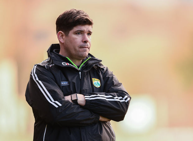Kerry manager Eamonn Fitzmaurice. Pic: Sportsfile