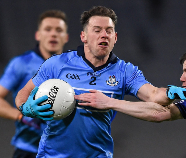 Dublin's Philly McMahon in action