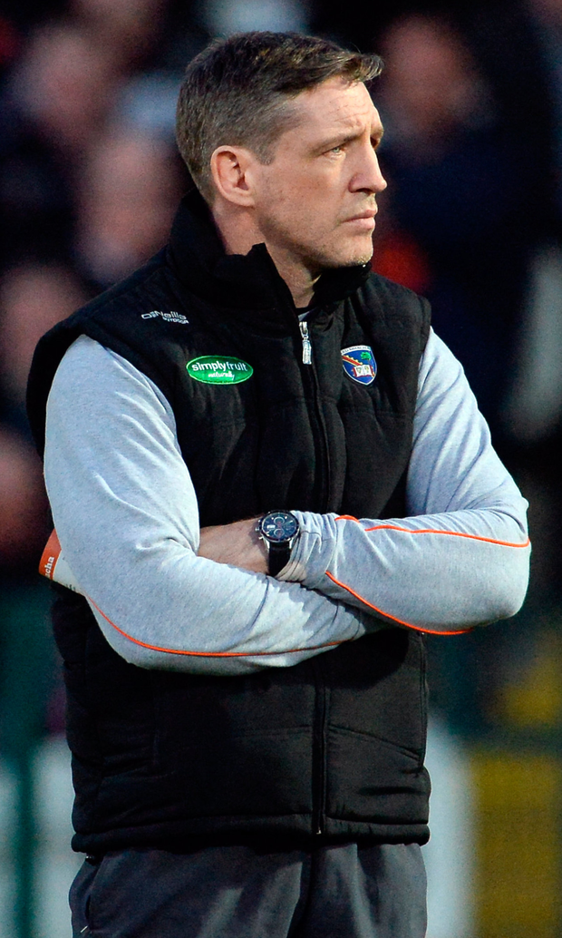 Armagh manager Kieran McGeeney.