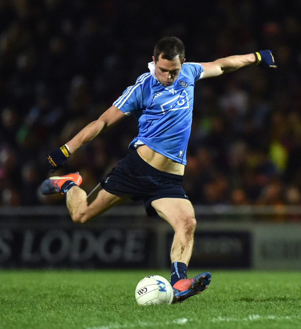 Dean Rock will hope to punish any Kerrry indiscretions in tomorrow's Allianz FL Division 1 final. Photo: Sportsfile