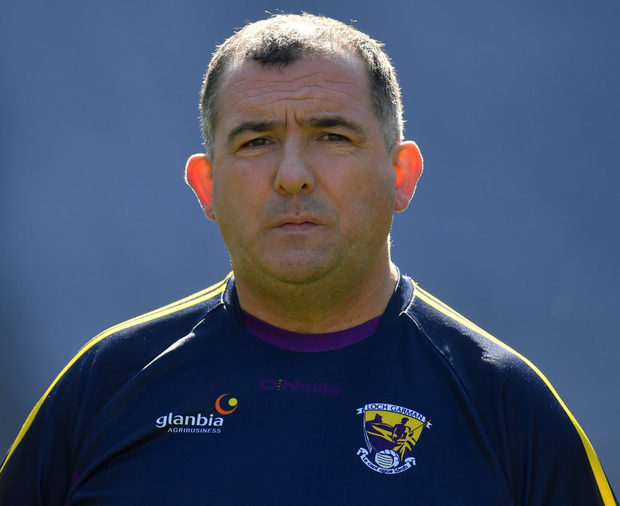 Wexford football boss Séamus McEnaney