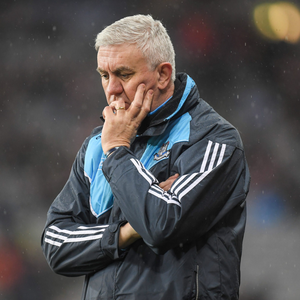 Dublin manager Ger Cunningham is investing his faith in the county's young hurlers. Pic: Sportsfile