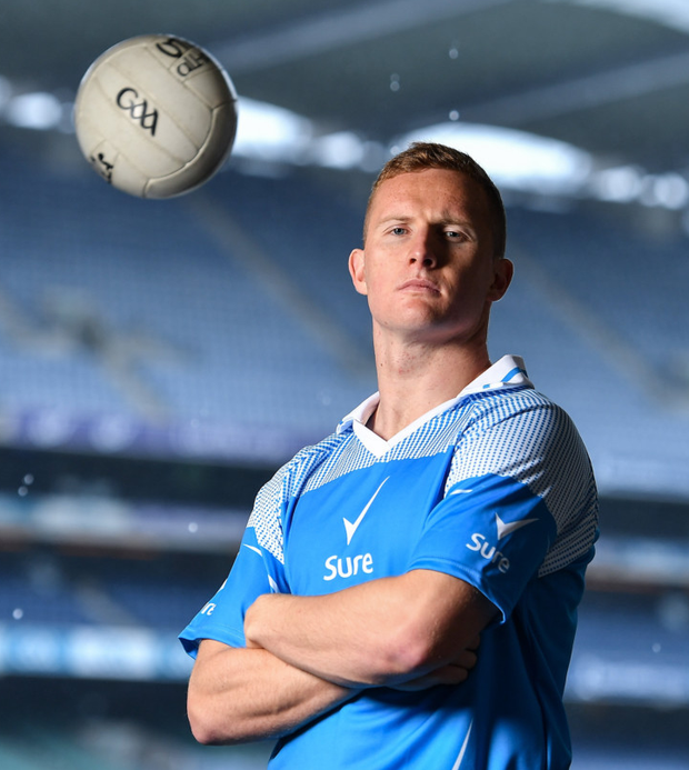 Ciarán Kilkenny in Croke Park at the recent launch of Sure deodorant as official statistics partners of the GAA. Photo: Sportsfile