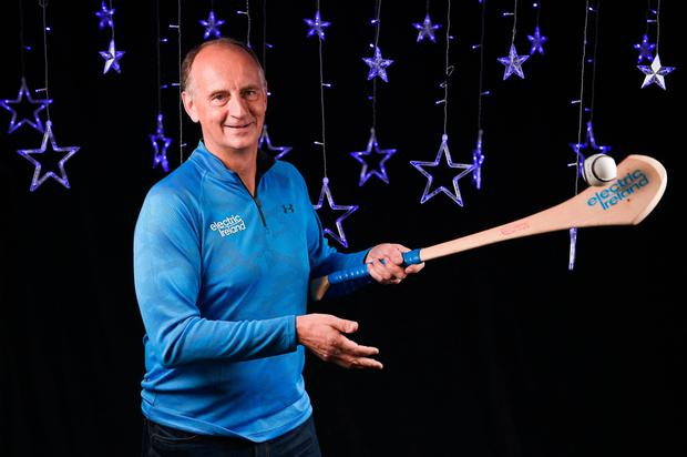 Offaly hurling legend Joe Dooley at the recent Electric Ireland Minor Star Award launch. Photo: Seb Daly/Sportsfile
