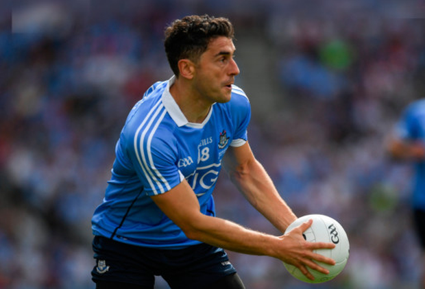 Bernard Brogan scored five points from play after being introduced as a first half sub in last Sunday's Leinster SFC final win against Kildare. Photo: Ray McManus/Sportsfile