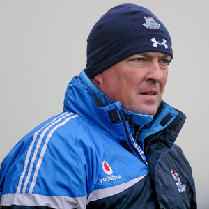New Dublin senior hurling manager Pat Gilroy pictured during an O'Byrne Cup game against Carlow in 2012