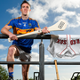 Tipperary's Michael Cahill at yesterday's launch of the AIG Fenway Hurling Classic and Irish Festival