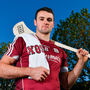 Galway's Johnny Coen at the launch of the AIG Fenway Hurling Classic and Irish Festival. Photo: Sportsfile