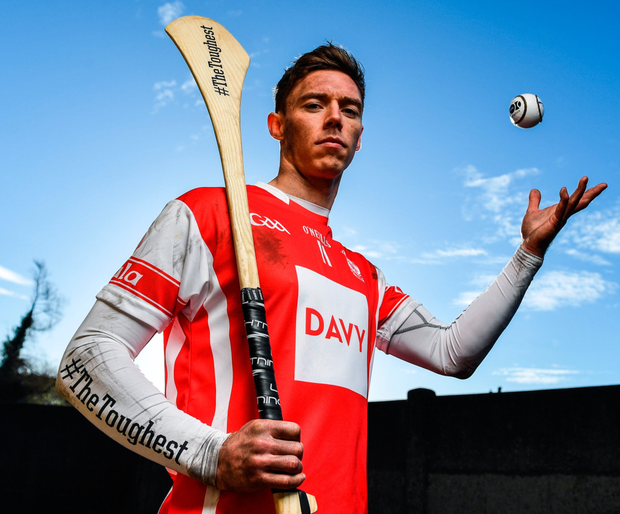 Cuala's Paul Schutte at the AIB Leinster Club SHC Final. Pic: Sportsfile