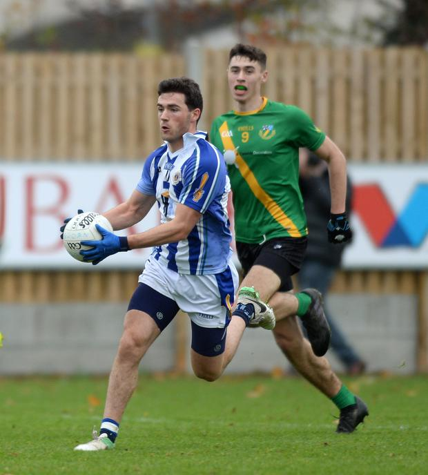 Colm Basquel's footballing form is excellent at the moment. Pic: Caroline Quinn