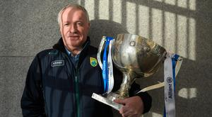 Kerry selector Mikey Sheehy at yesterday's 2018 Allianz Football League launch. Pic: Sportsfile