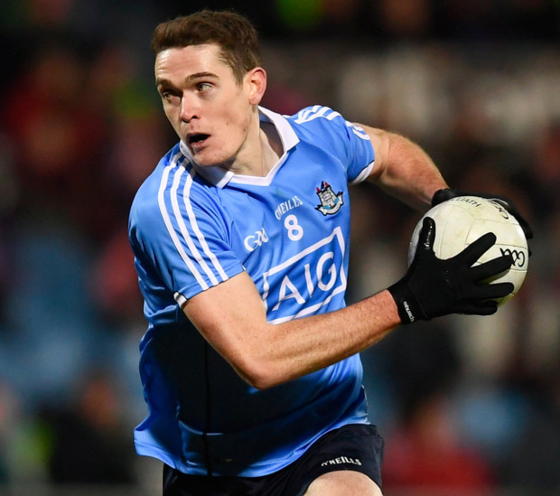 In-form: Dublin's Brian Fenton has enjoyed an impressive league campaign to date