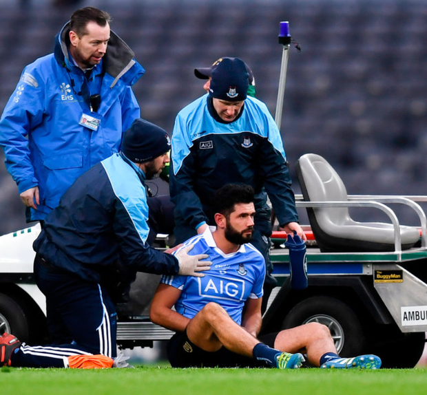 HUGE LOSS: Cian O'Sullivan has undergone surgery on the shoulder he injured last week and misses out tomorrow