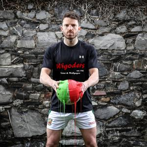 Mayo defender Chris Barrett