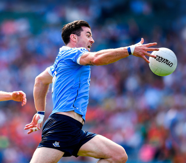 Midfielder Michael Darragh Macauley has been in superb form for Dublin