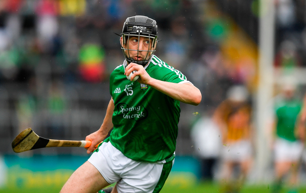 LINK MAN: Graeme Mulcahy scored three points in Limerick's defeat of Kilkenny. Pic: Sportsfile