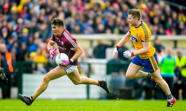 FLYING MACHING: Galway forward Shane Walsh. Pic: Sportsfile