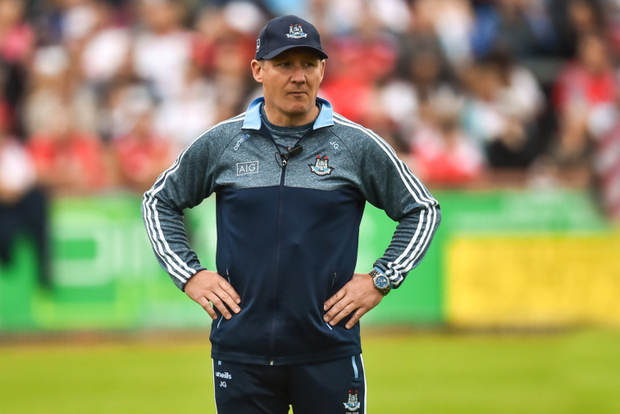 BLUE WAVE: Dublin manager Jim Gavin. Photo: SPORTSFILE
