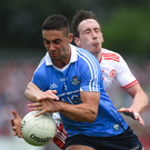RIVALS: Dublin's James McCarthy and Tyrone's Colm Cavanagh Pic: Sportsfile
