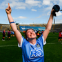 LEADING ROLE: Dublin's Aoife Bugler who scored the only goal of yesterday's All-Ireland Junior Premier final. Photo: SPORTSFILE
